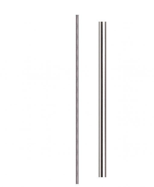 "HF17.11.5-T: Hollow 9/16"" Round 304 Grade Stainless Steel Baluster"