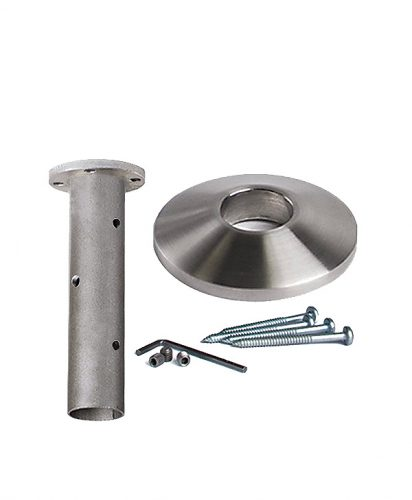HF17.2.3: Hollow  Round 304 Grade Stainless Steel Mounting Kit