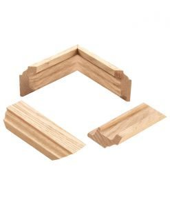 LJ-3019MLDG: 2' Angle Bracket Trim Piece for 3009 or 3019 Newel Post Angle Brackets