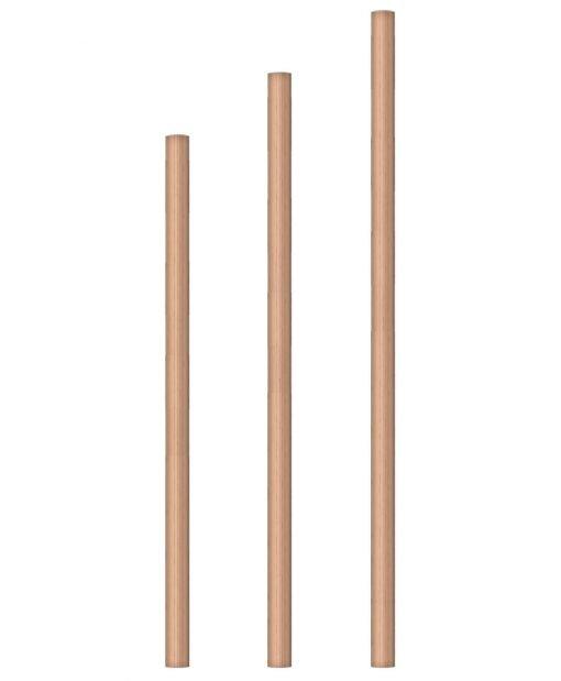 "LJ-5370: 1 3/4"" Round Baluster"