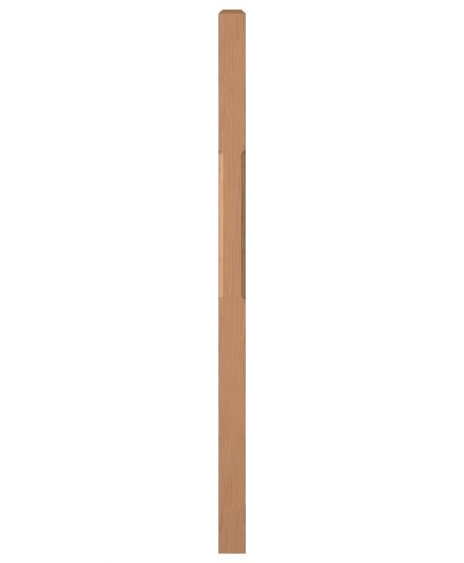 "LJC-4111: 3"" Chamfered Universal Newel Post"