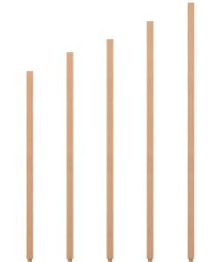 "S-5060: 1 1/4"" Square Baluster"