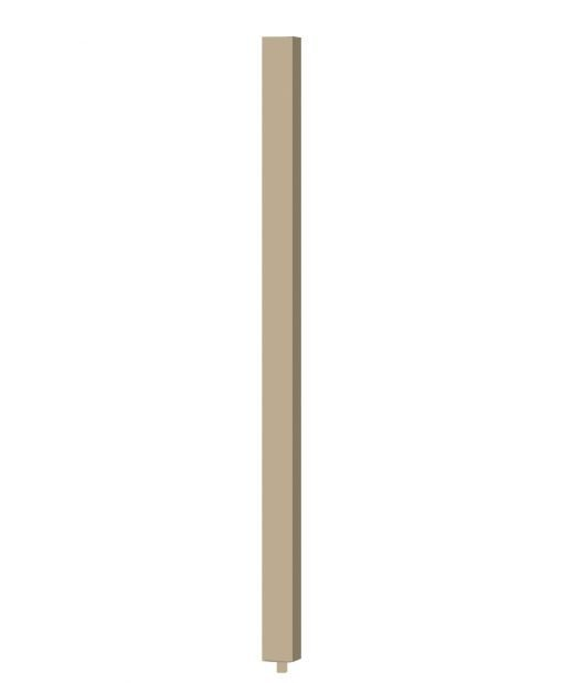 """S-5360: 1 3/4"""" Square Baluster (3D CAD Rendering)"""