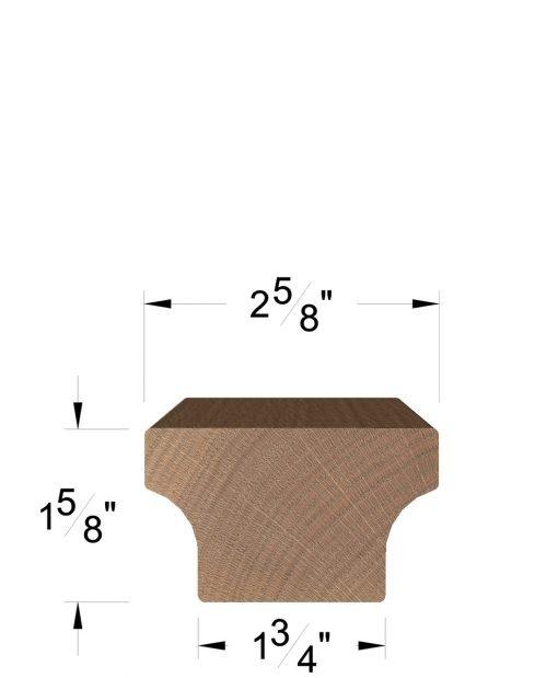 HF6084: Modern Handrail Dimensions
