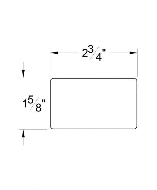 HF6002: Modern Handrail Dimensions