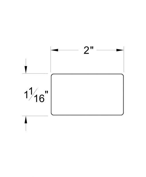 HF6060: Modern Handrail Dimensions
