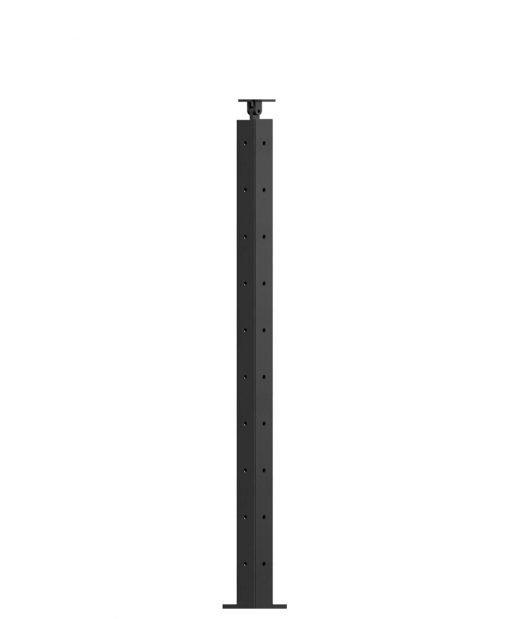 "CL-310C-36: 2"" x 34 3/8"" Level Corner Newel (10 Holes)"