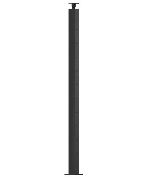"""CL-310D39S-42: 2"""" x 40 3/8"""" Level Down Straight Transition 39"""" Rake to 42"""" Level Newel (11 & 12 Holes)"""