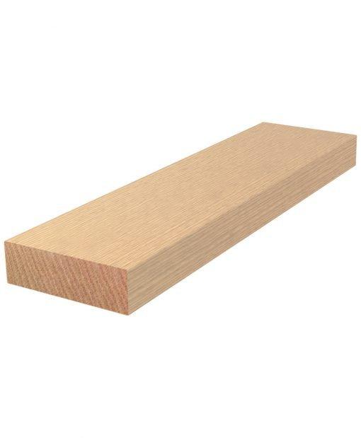 "BOXTRD: Face Laminated 3 1/2"" x 11 1/2"" Solid Wood Box Tread"