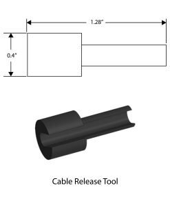 C-RELEASE: Cable Release Tool CAD Drawing