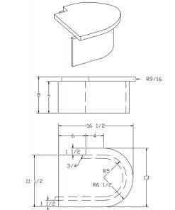 LJ-8010-2: False End Starting Step  Cad Drawing
