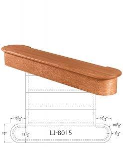 LJ-8015: Double Bullnose Starting Step