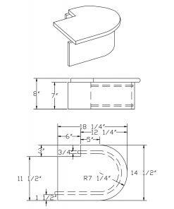 LJ-8310-2: False End Starting Step  Cad Drawing